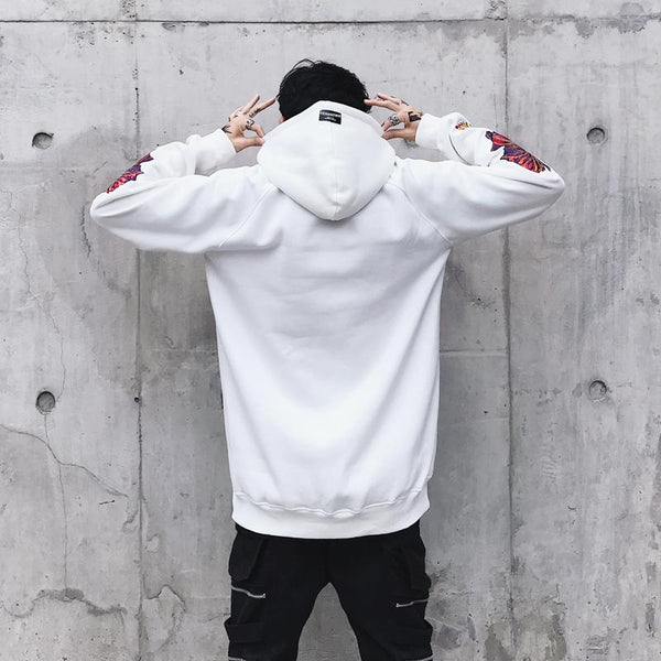 Pursuit Sweater - Black/White
