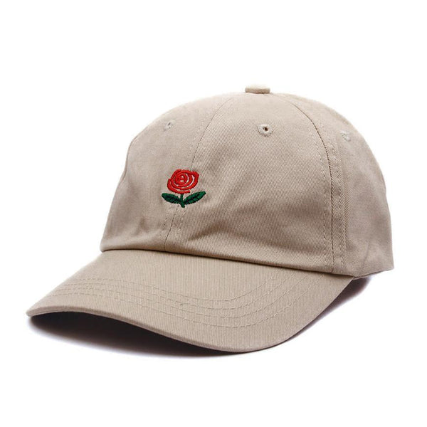 The Roses Cap - Khaki
