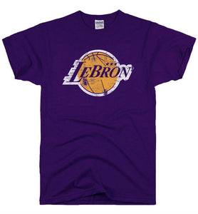 LeBron Tee - Purple