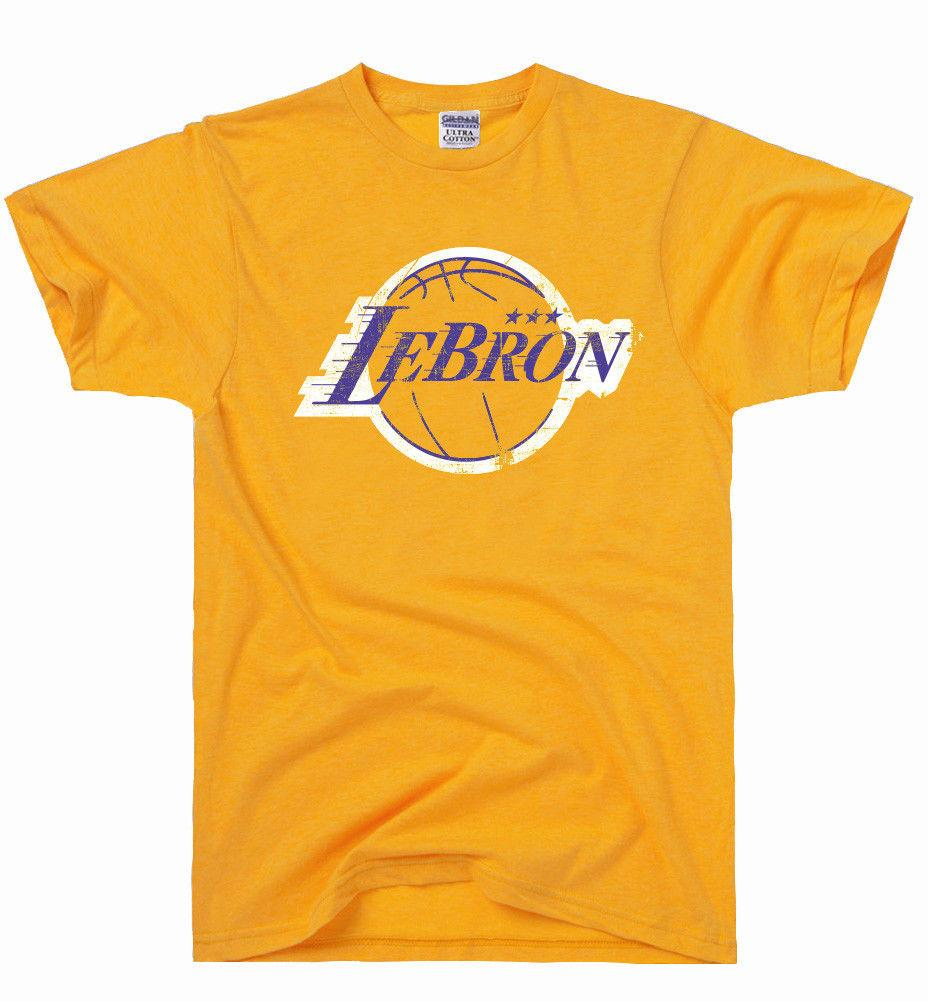 LeBron Tee - Yellow