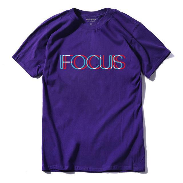 Focus Tee - Purple