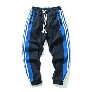 MX Track Pants - Black/Blue