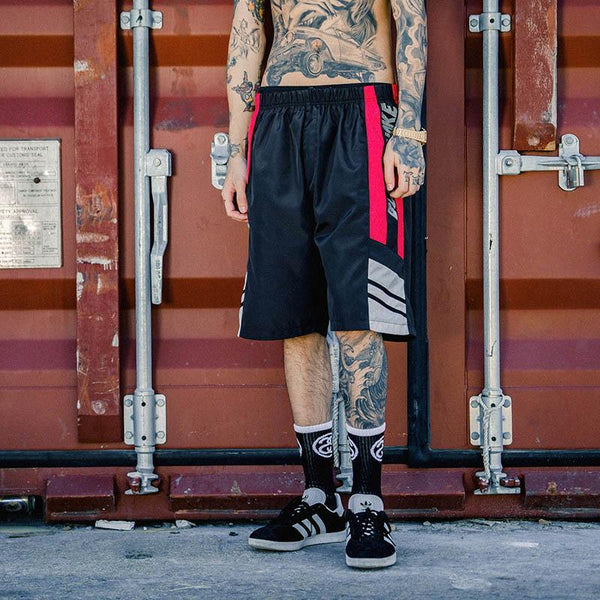 Black Smoke Shorts - Black