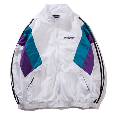 Skatepark Jacket - White