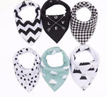 Shapes scarfs / bibs - [4 pcs]