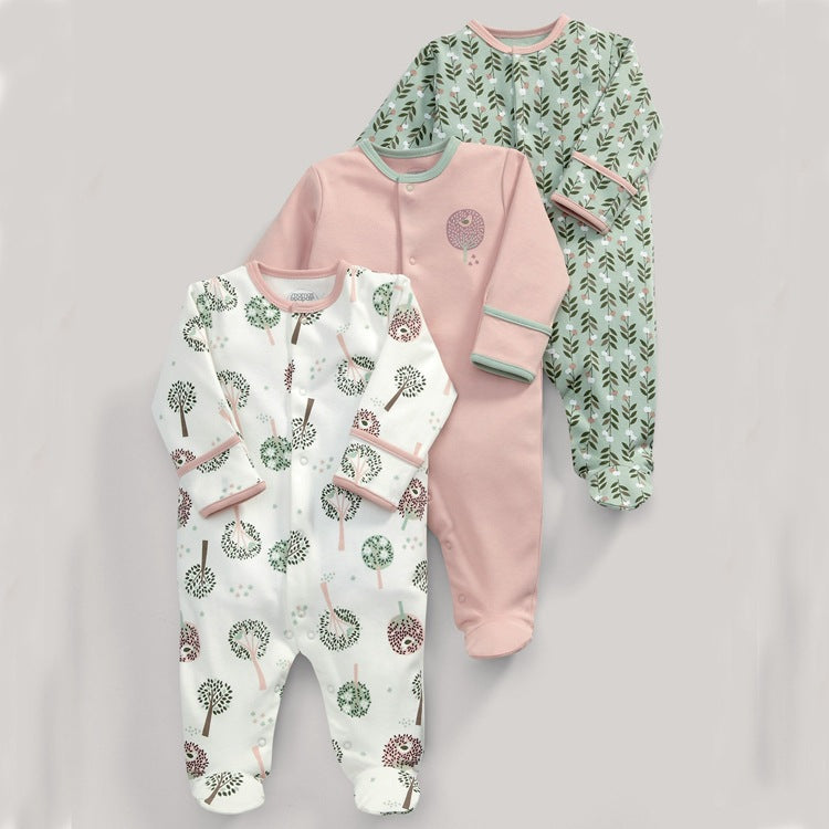 Stylish Baby Rompers - [3 pcs]