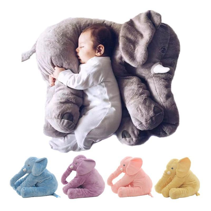 Cute Elephant Shape Pillow for Baby