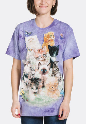 10 Kittens T-Shirt - Only Cat Shirts