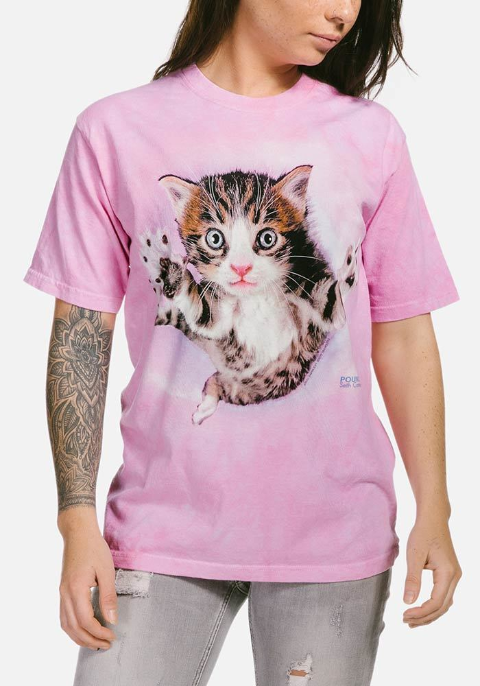 Pounce Chicken T-Shirt - Only Cat Shirts