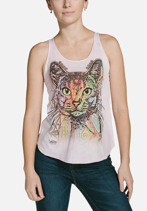 Abyssinian Flow Tank Top - Only Cat Shirts