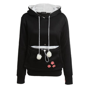 Cat-a-roo! The amazing cat pouch hoodie