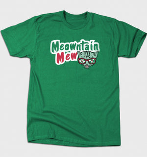 Meowntain Mew T-shirt - Only Cat Shirts