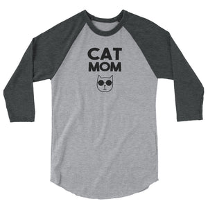 Cat Mom Baseball Shirt