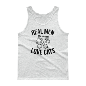 real men love cats tank top onlycatshirts