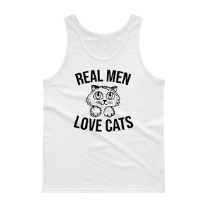 Real Men Love Cats Tank top