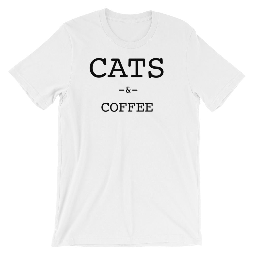 7d2c1a3e Cats and Coffee Essentials T-shirt - Only Cat Shirts