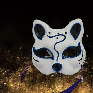 Cat Face | Light Up Party Mask
