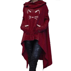 Cat Hoodie For Women