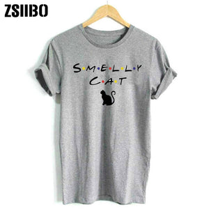 Smelly Cat Printed T-shirt
