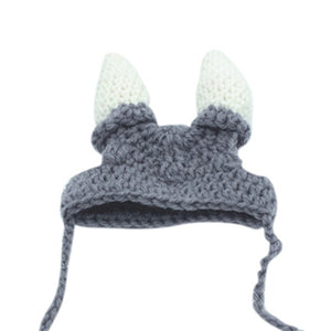 Knitted Viking Helmet | Cat Costume