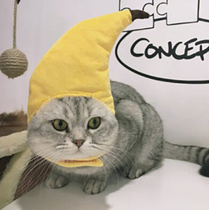 Banana Hat | Cat Costume