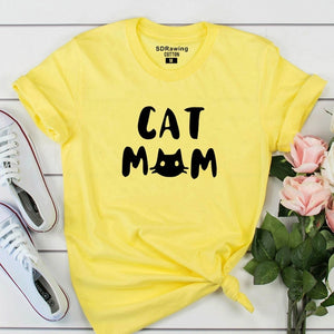 Cat Mom Women's T-shirt