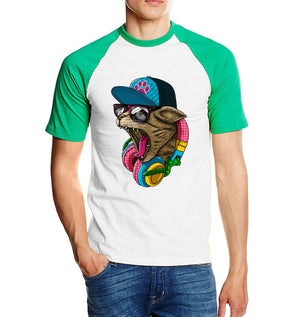 Animal Shirt Crazy DJ Cat - Only Cat Shirts
