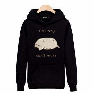 So Lazy... Cant Move.... Hooded Sweatshirt