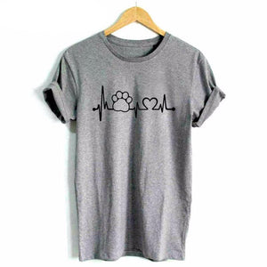 heart beat cat shirt - onlycatshirts