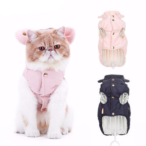 Small Padded Cat Vest - Only Cat Shirts