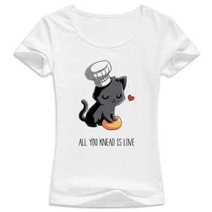 All You Kneed Is Love Cat Making Biscuits - onlycatshirts