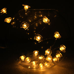 cat led string light warm white