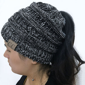 NEW Ponytail Beanie Hat - Only Cat Shirts
