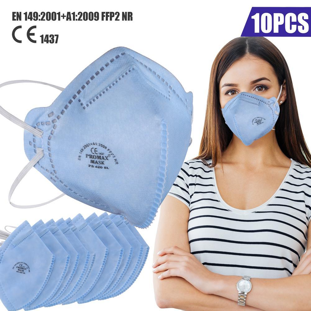 N95 Respiratory Face Mask, 6-Layer Filter