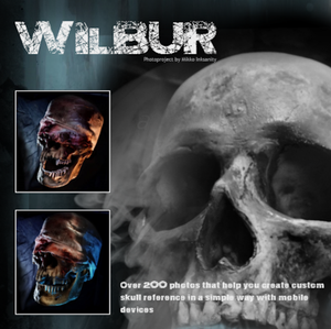 WILBUR - a digital skull photography collection