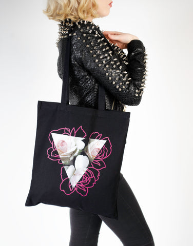 THREE FLOWERS bag