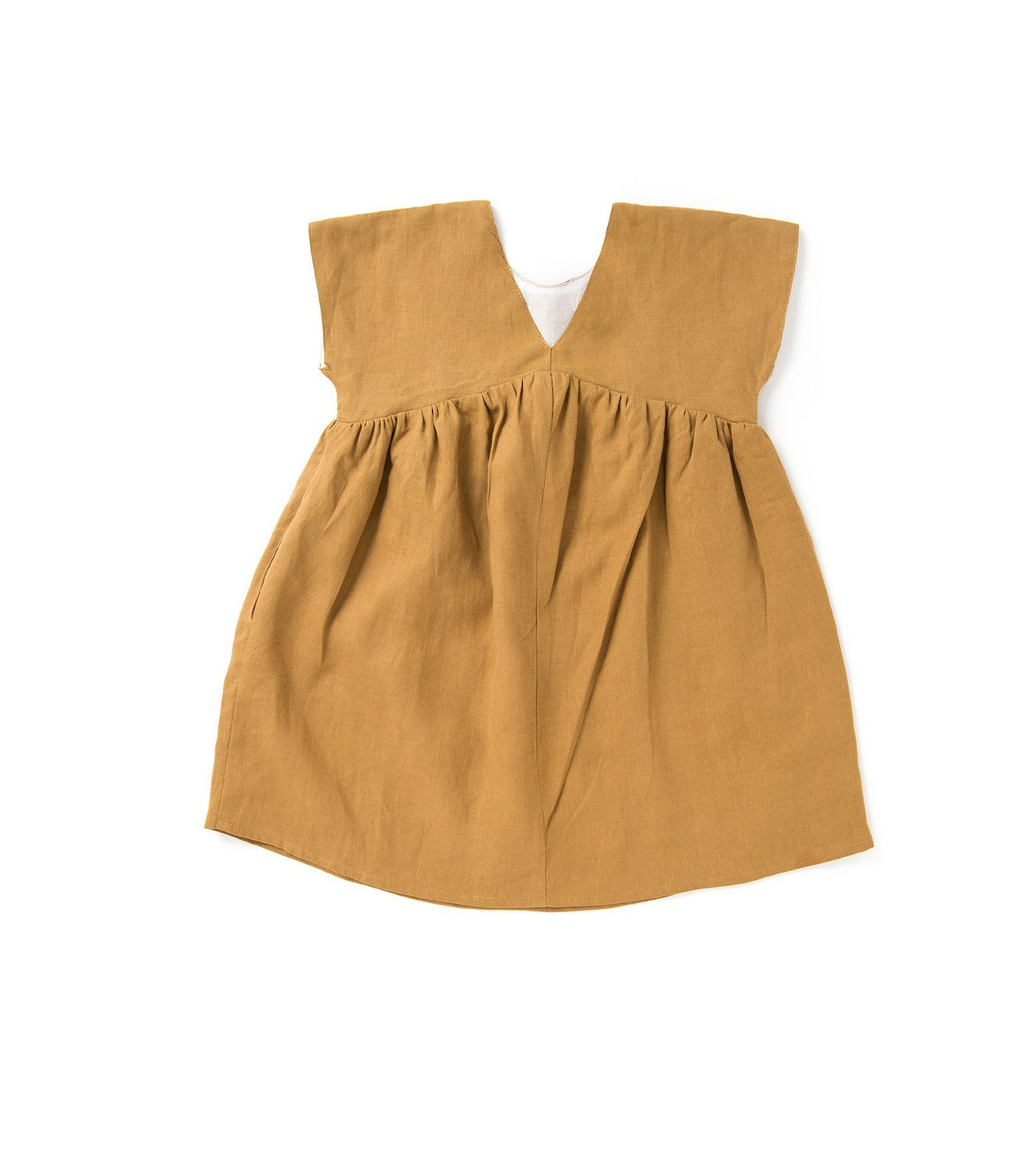 girls linen dress kids clothes kids dress