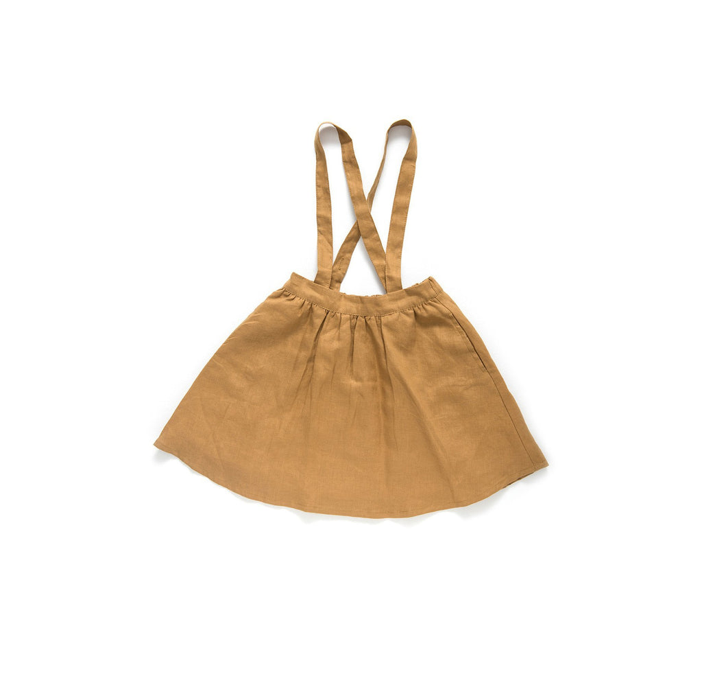 Girls linen pinafore girls clothes