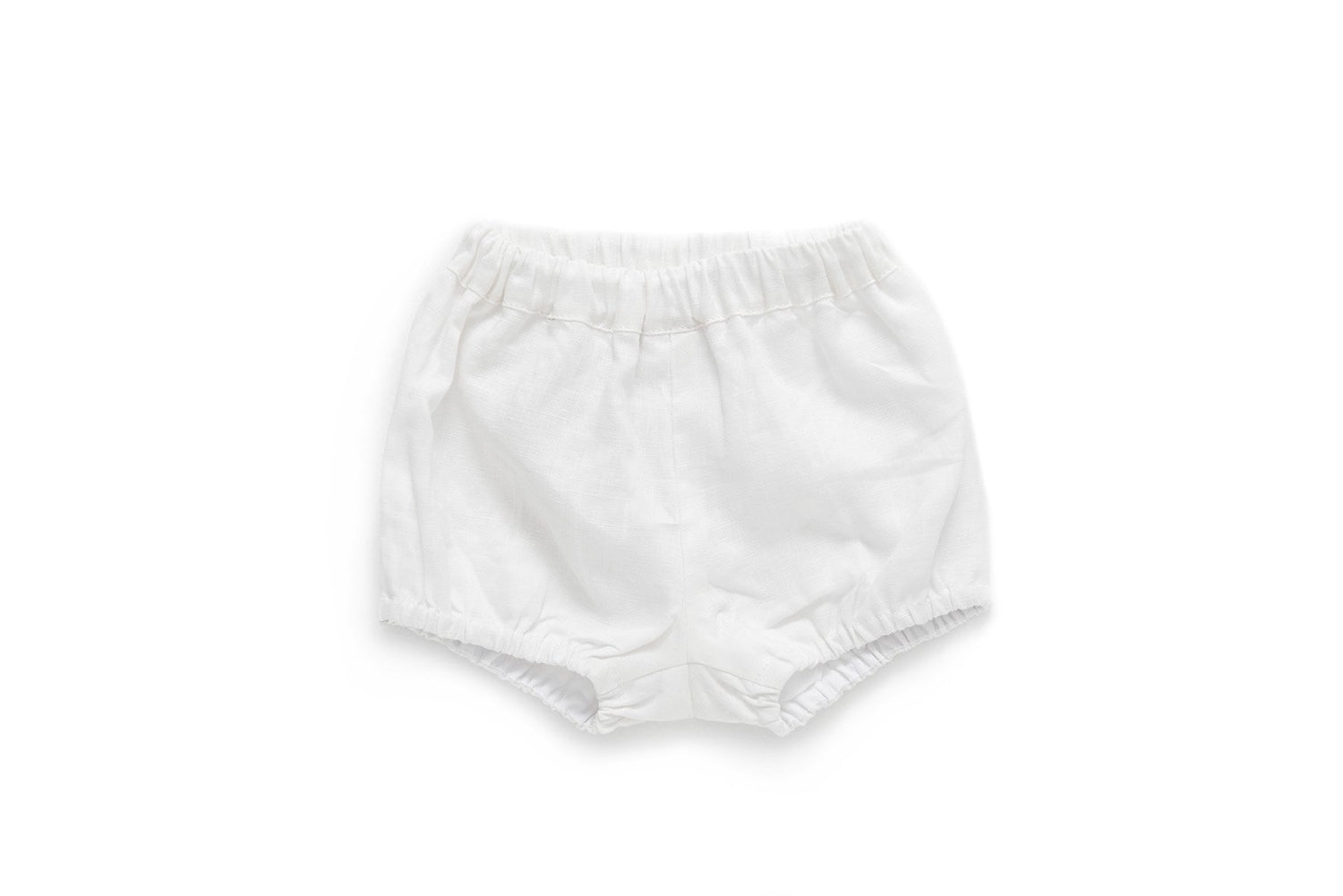 Linen baby bloomers baby clothes