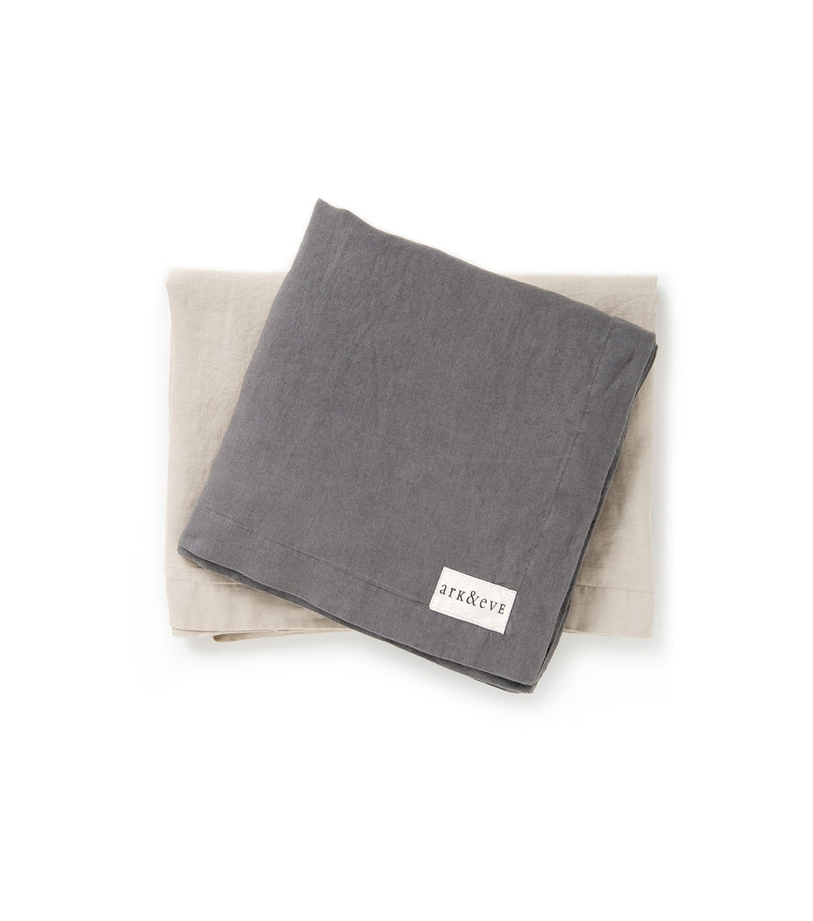 Linen throw rug baby accessories