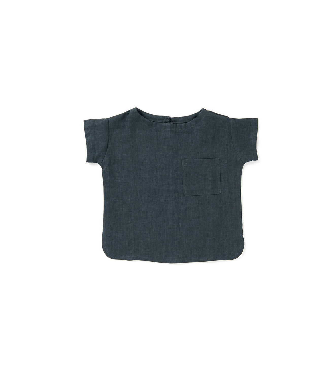Linen kids top t-shirt kids clothes