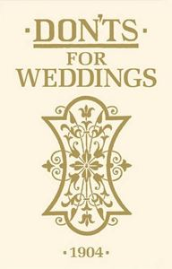 Book - DON'TS for Weddings