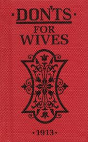 Book - DON'TS for Wives