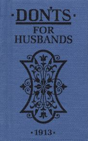 Book - DON'TS for Husbands