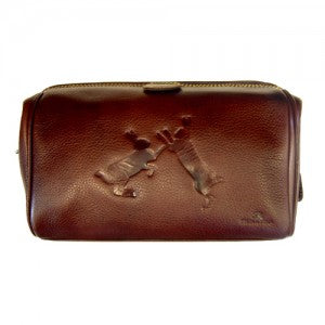 Tyler & Tyler Leather Washbag