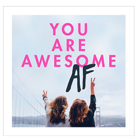 Book - You are awesome AF