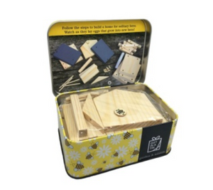 Gift in a tin - Build a Bee Hotel