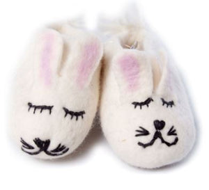 Felt Booties - Little Bunnies