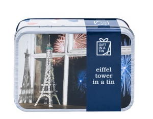 Gift in a tin - Eiffel Tower