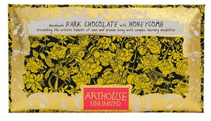Bee Free Handmade Dark Chocolate with Honeycomb